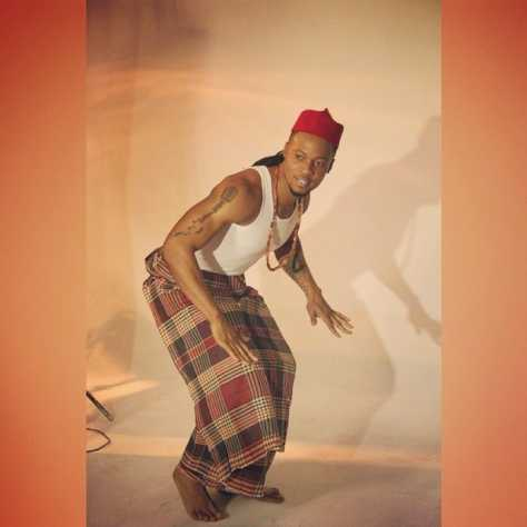 Flavour looking good in traditional attire