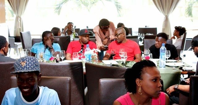 Friends at Dr Sid's birthday lunch at Intercontinental hotel