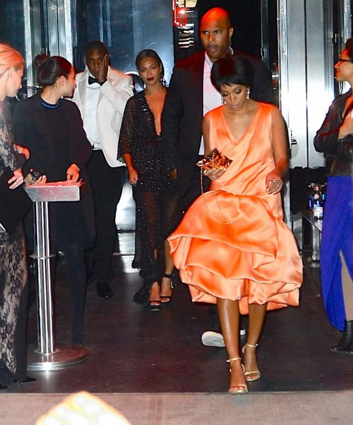 Jay z, Beyonce and Solange