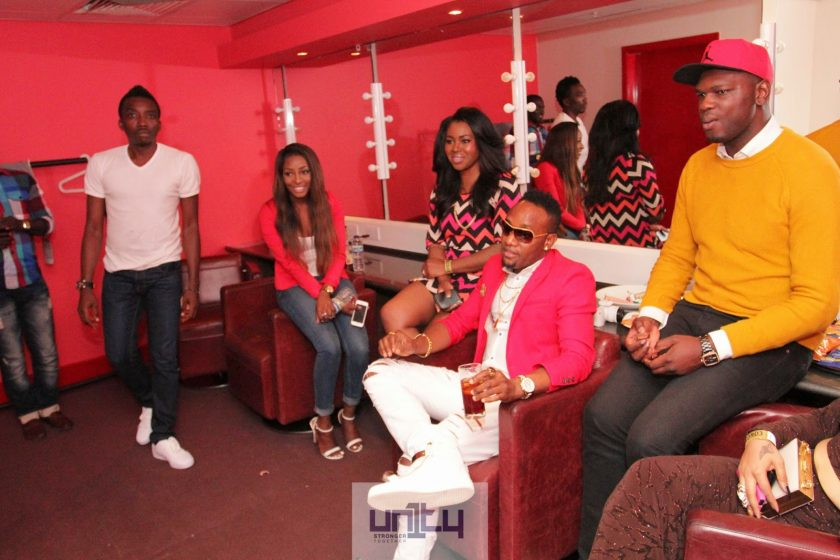 Kcee at Bovi's Man On Fire London Show