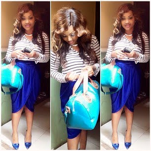 Mercy Aigbe looks super stunning in new photo