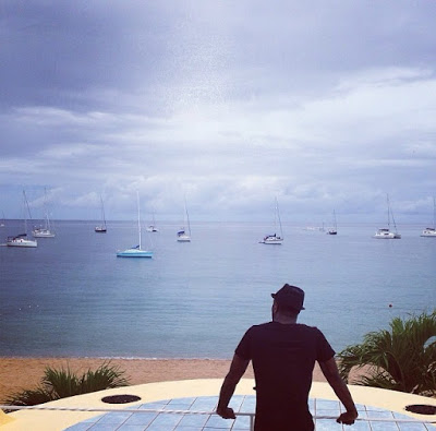 Psquare shares pics from st Lucia