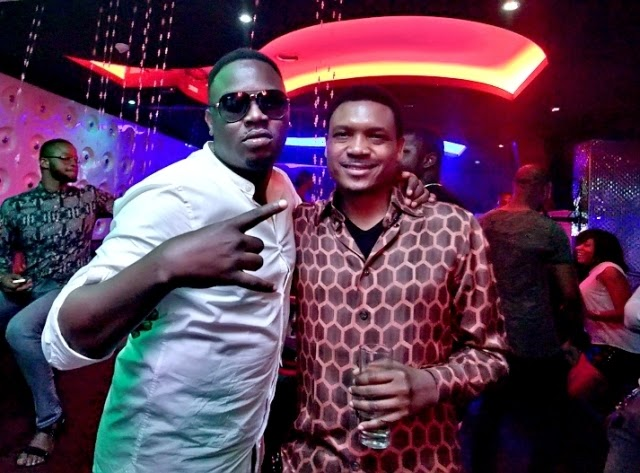 Shina Peller - Dr sid's birthday party with the Mavins at Quilox
