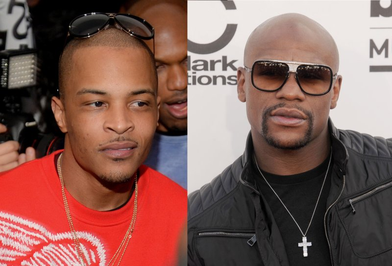 T.I and Floyd Mayweather