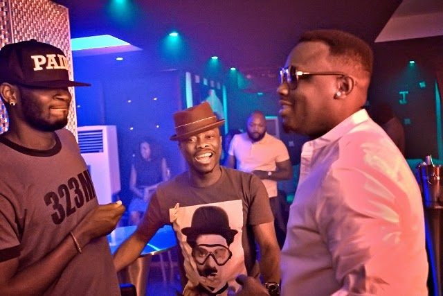 TBillz, Julius Agwu at Dr sid's birthday party with the Mavins at Quilox