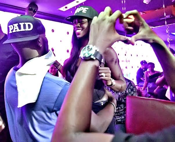 Tbillz and Tiwa Savage - Dr sid's birthday party with the Mavins