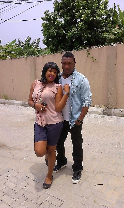 Tchidi Chikere shares romantic photo of himself and Nuella