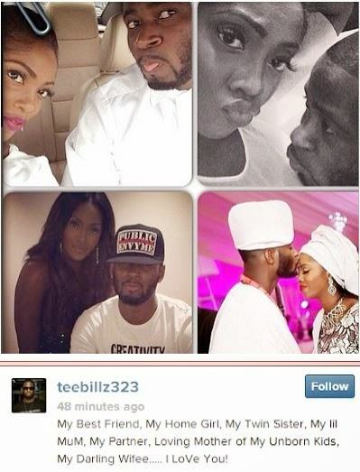 Teebillz professes his love for Tiwa Savage