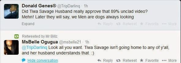 Teebillz replies critics as he tweets support for Tiwa Savage's explicit 'Wanted' video