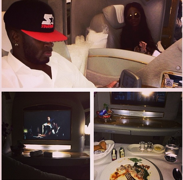 Tiwa Savage and hubby back home from their honeymoon