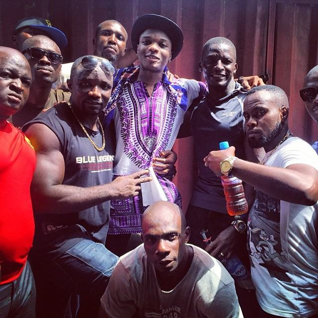 Wizkid and Surulere goons
