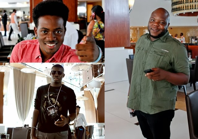 bizzle, Tega and Korede Bello - Dr Sid's birthday lunch at Intercontinental hotel