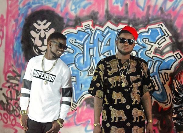 Behind the scenes with Skales on 'Shake body'