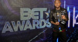 Davido BET Award 14
