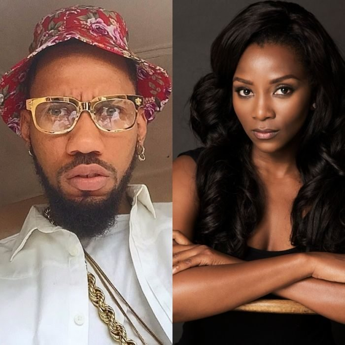 Genevieve Nnaji and Phyno