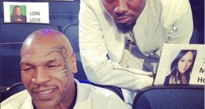 Ice Prince and Mike Tyson