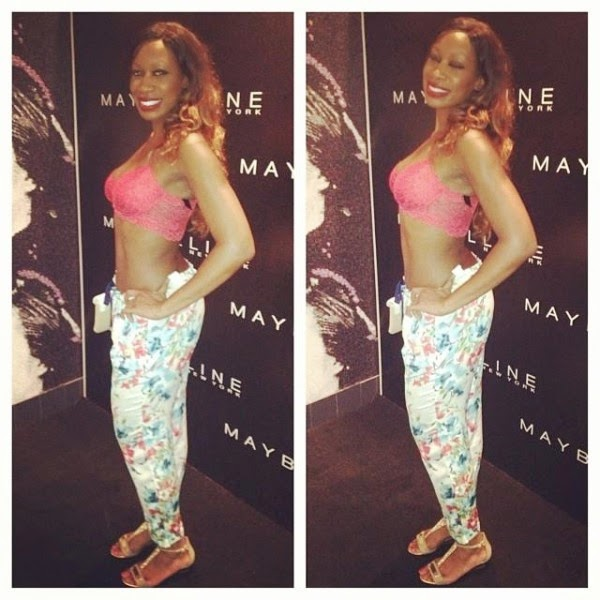 MKO Abiola's daughter wears just bra to an event