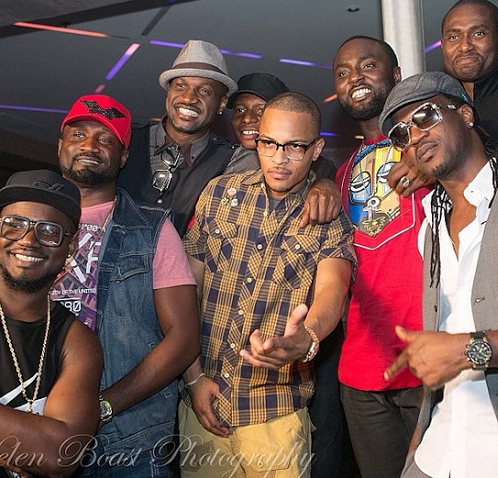 P-Square and T.I's music video