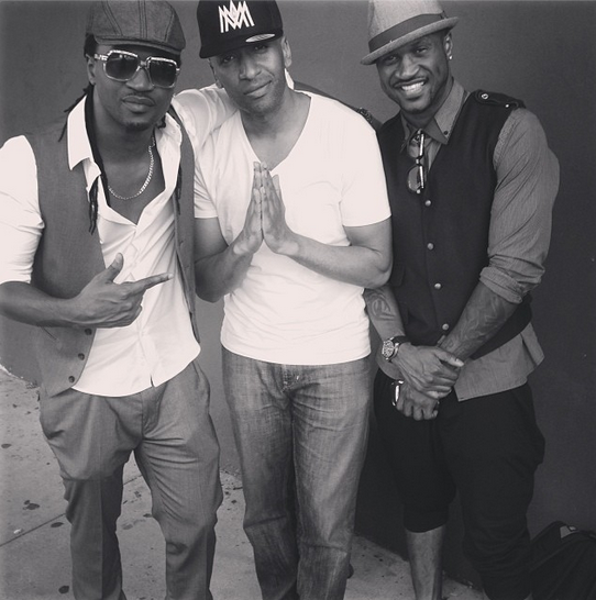 PSquare and Tmah of Konvict music
