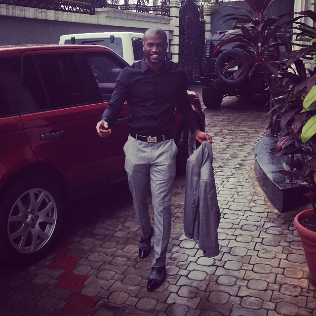 Peter Okoye shares new photos & luxurious cars
