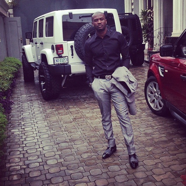 Peter Okoye shares new photos of him self & luxurious cars