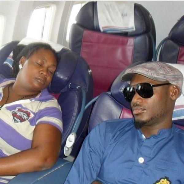 Tuface and comedienne Princess spotted sleeping together
