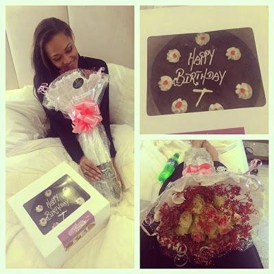 Wizkid's expensive gift to Tania on her birthday today
