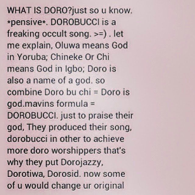 dorobucci meaning