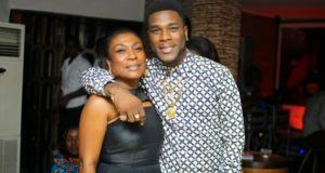 Burna Boy and Mum Bose Ogulu
