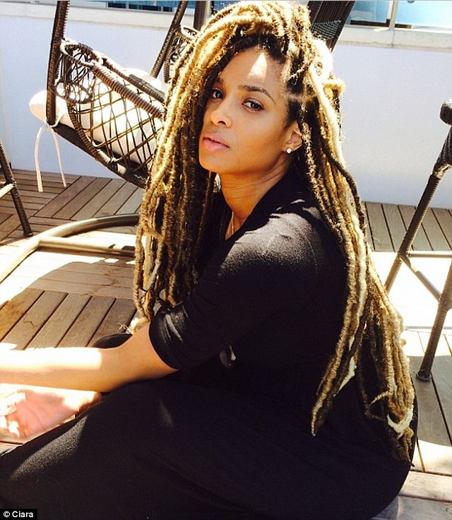 Ciara looking lovely on dreads