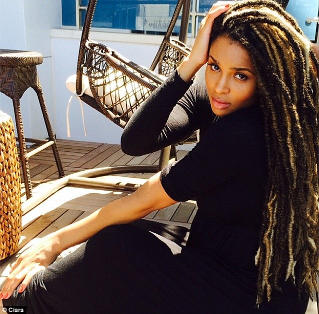 Ciara rocks dreads