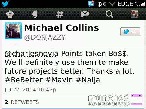 DOn Jazzy reply Charles