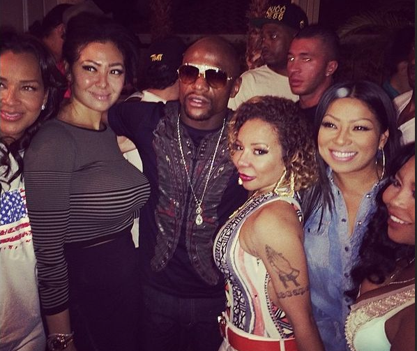 Floyd Mayweather and Tiny