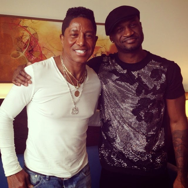 Jermaine Jackson in Lagos to collaborate with Psquare
