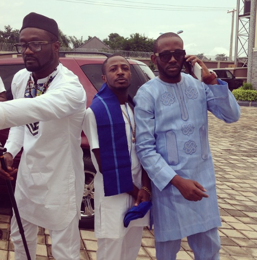 First photos of Phyno, Flavour and others at Jude Okoye's traditional wedding