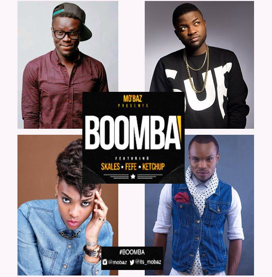 Mobaz - Boomba ft Skales, Ketchup and Fefe [AuDio]