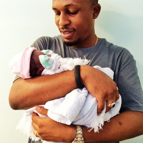 Naeto C shares first photo of his daughter