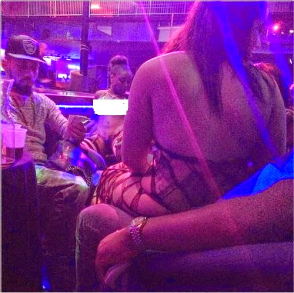Phyno spotted in a strip club in Texas