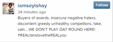 Seyi Shay shade