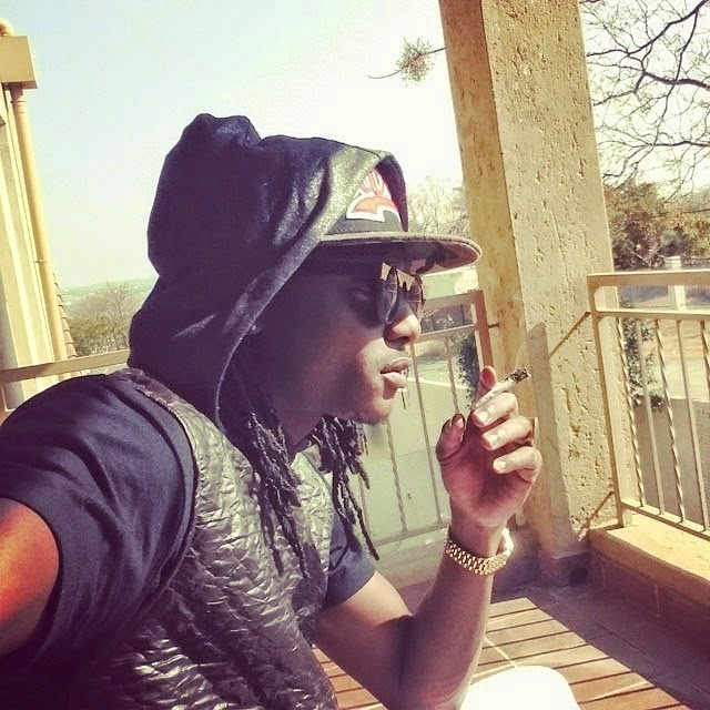 Terry G shares photo of himself smoking weed