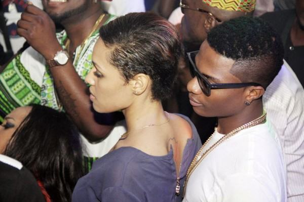 wizkid 24th birthday party