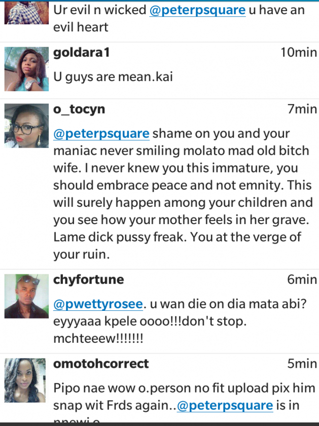 psquare fans react