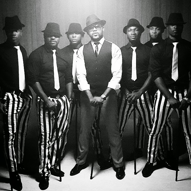 Banky W and dance crew