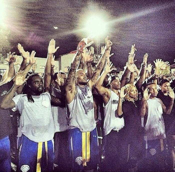 Celebrity protest Michael Brown shooting