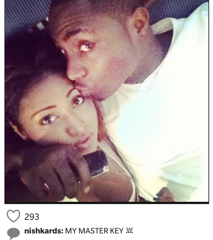 Davido back with his sèxy ex, Nish Kards