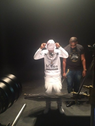 Don jazzy - Ice Prince feat AKA 'N Word video BTS