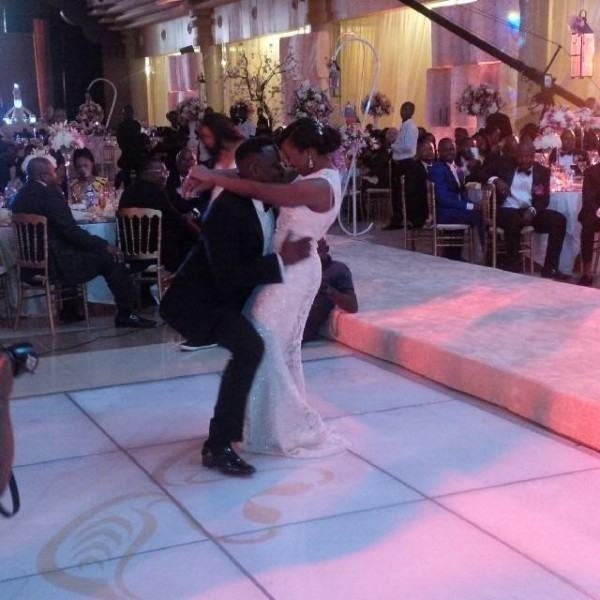 celebrities turn up for Dr Sid's white wedding