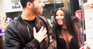 Drake takes Nicki Minaj snack shopping
