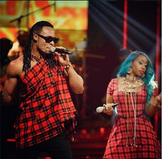 Flavour and Victoria Kimani performs at Coke Studio Africa