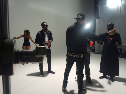 Ice Prince feat AKA 'N Word video BTS